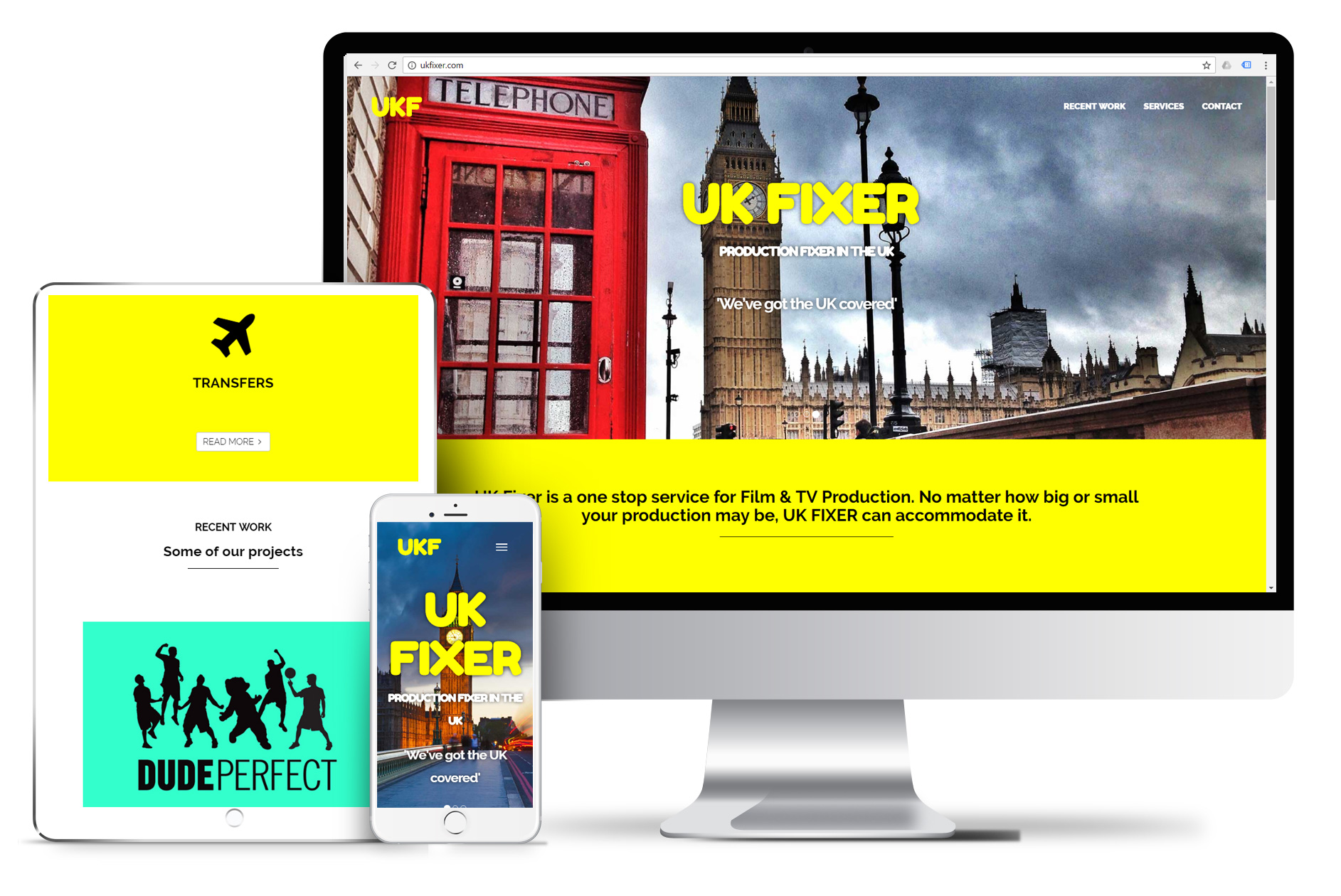 Website Design for UK Fixer