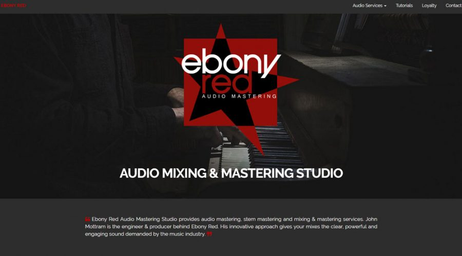 Recent work on Ebony Red SEO