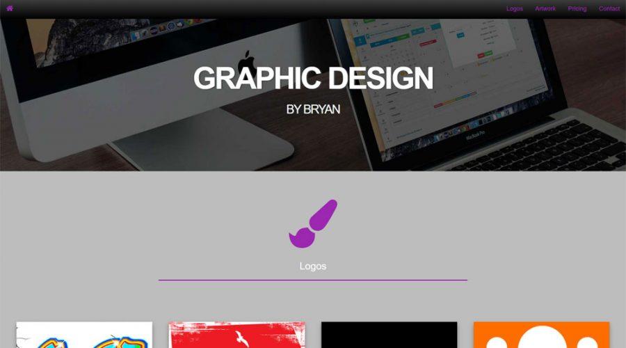 Recent work on Graphic Design by Bryan