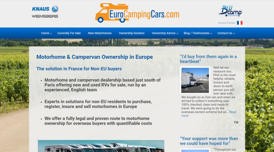Monthly Marketing | Euro Camping Cars
