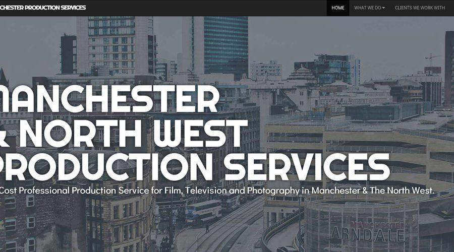 Web Design | Manchester Production Services