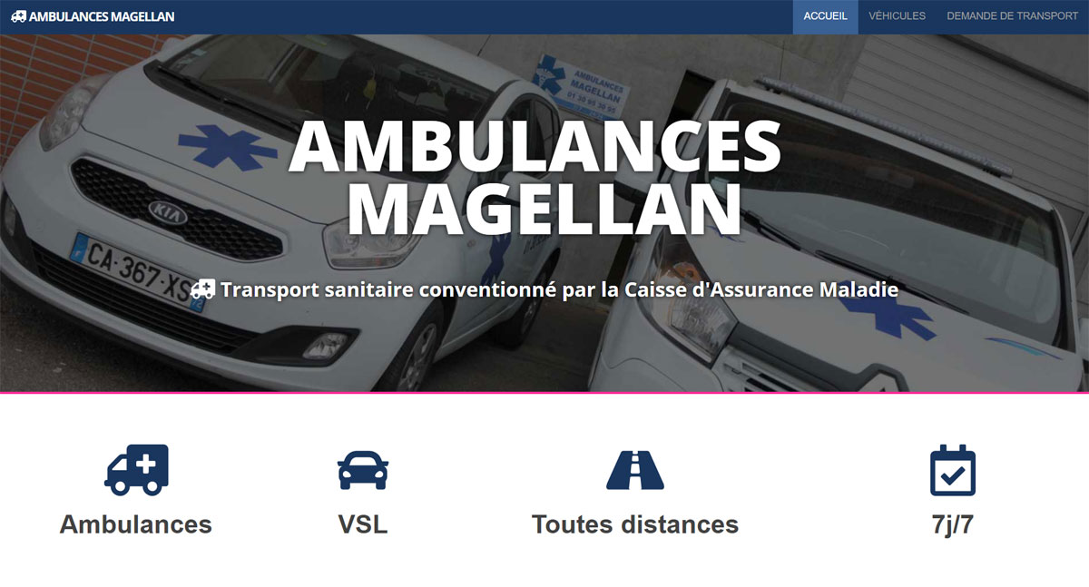 ambulances magellan screenshot one