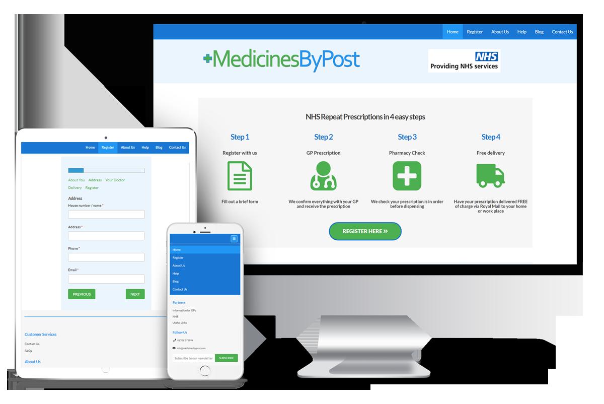 MedicinesByPost mock up
