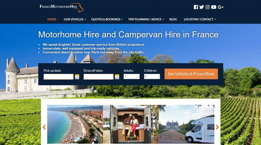 Monthly Marketing | France Motorhome Hire