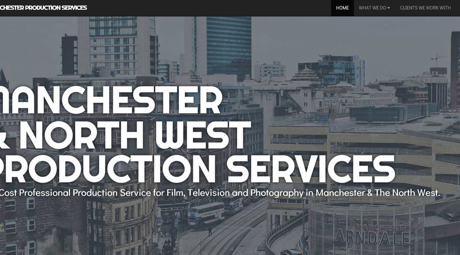 Web Design | Manchester Production Services