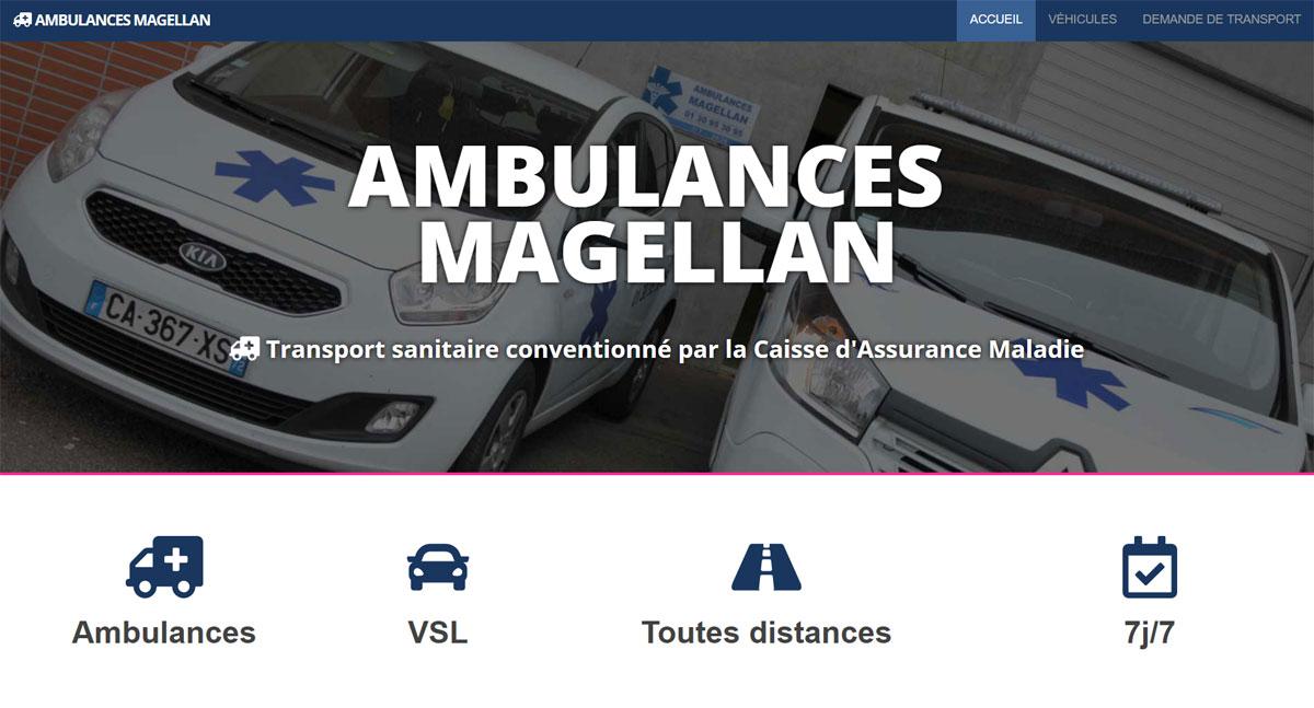 ambulances magellan screenshot one