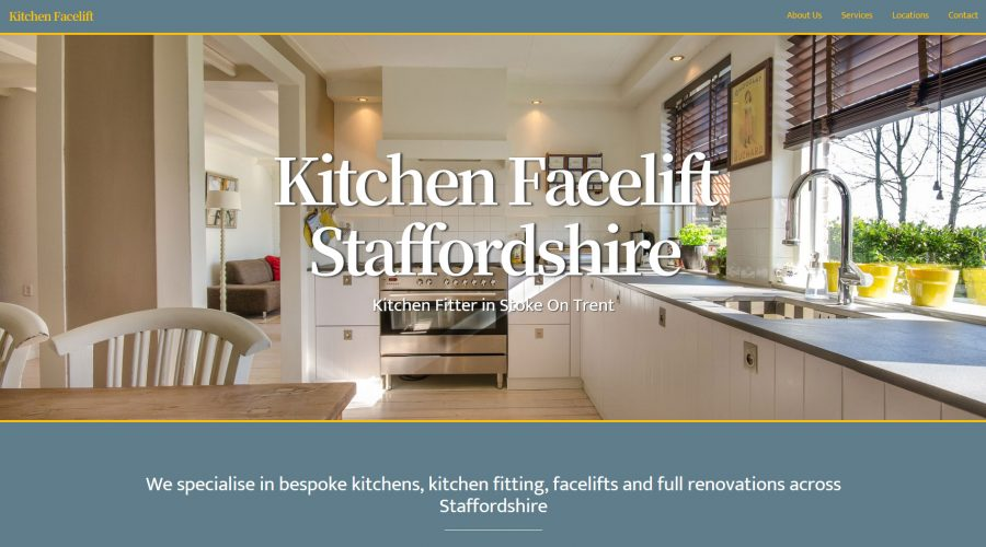 Web Design | Kitchen Facelift Staffordshire