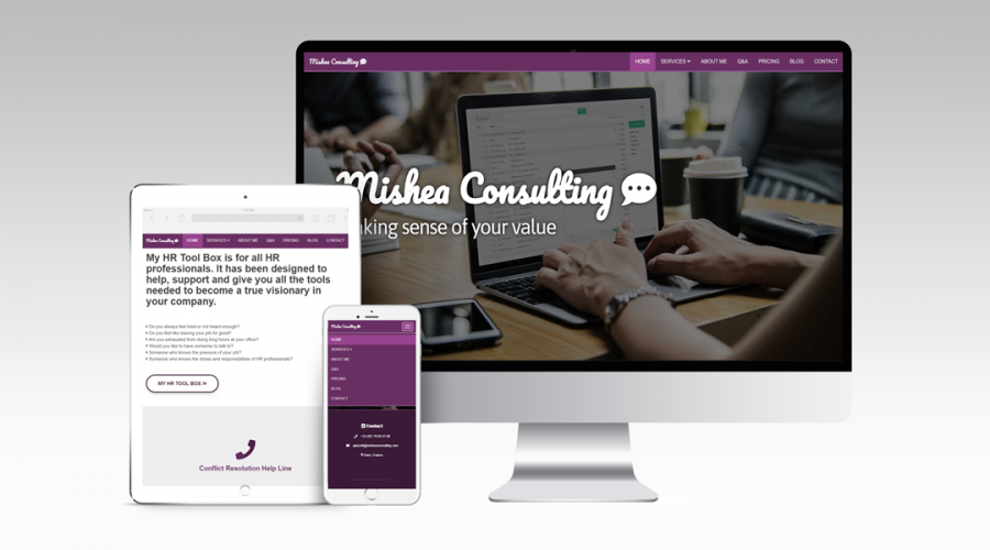 Web Design | Mishea Consulting
