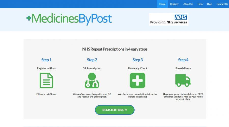 Web Design | MedicinesByPost
