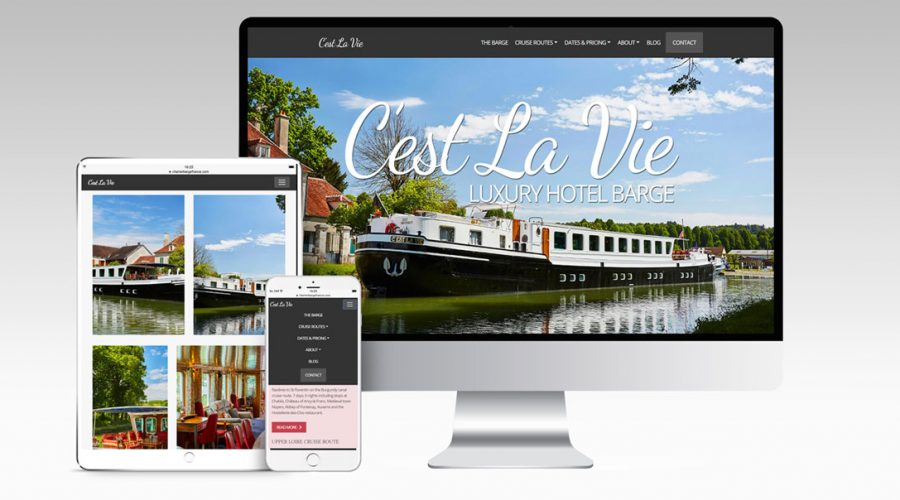Marketing | C'est La Vie Luxury Hotel Barge
