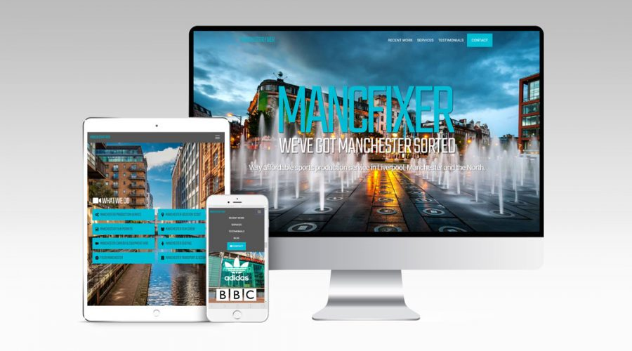 Web Design | Manchester Fixer 2.0