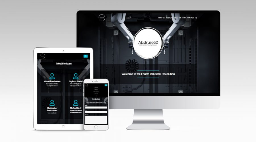 Web Design | Abstruse 3D