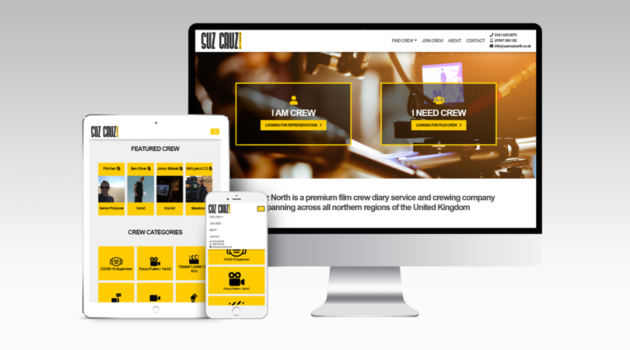 Web Design | Suz Cruz North