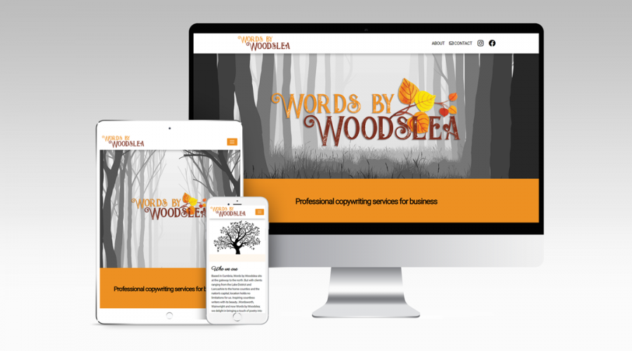 Web Design | Words by Woodslea