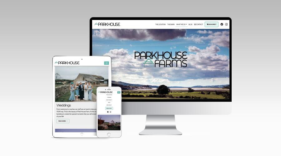 Web Design | Park House Farms